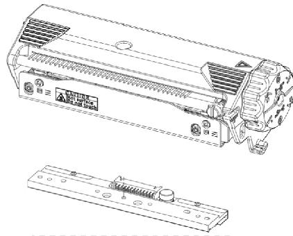 Thermoleiste für Dedruma MB340T (300 dpi)