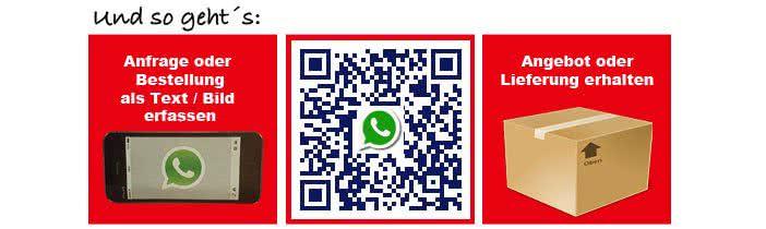 Whatsapp Anfrage - Thermoleisten - Thermoleisten24.de Online Shop