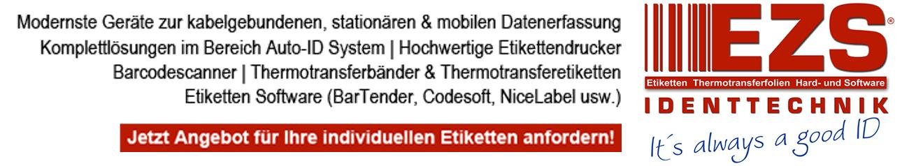 EZS Identtechnik GmbH - Etikettendrucker, Etiketten etc.